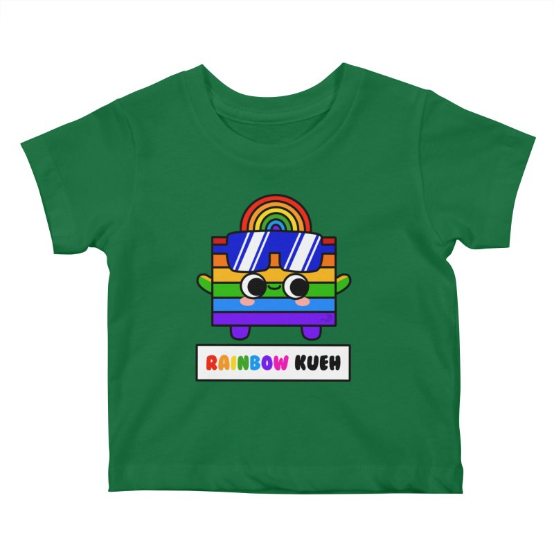 Rainbow Kueh (By Singaporeans For Singaporeans) Kids Baby T-Shirt by Laugh And Belly's Merch