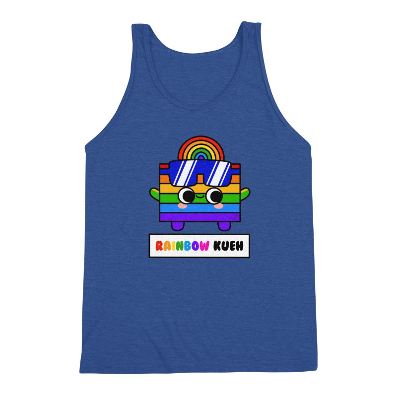 Rainbow Kueh (By Singaporeans For Singaporeans) Men's Tank by Laugh And Belly's Merch