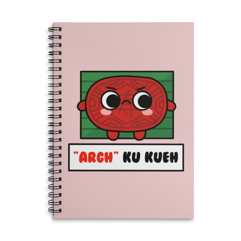 ARGH! Ku Kueh (By Singaporeans For Singaporeans) Accessories Notebook by Laugh And Belly's Merch