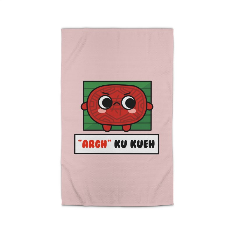 ARGH! Ku Kueh (By Singaporeans For Singaporeans) Home Rug by Laugh And Belly's Merch