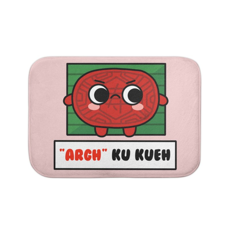ARGH! Ku Kueh (By Singaporeans For Singaporeans) Home Bath Mat by Laugh And Belly's Merch