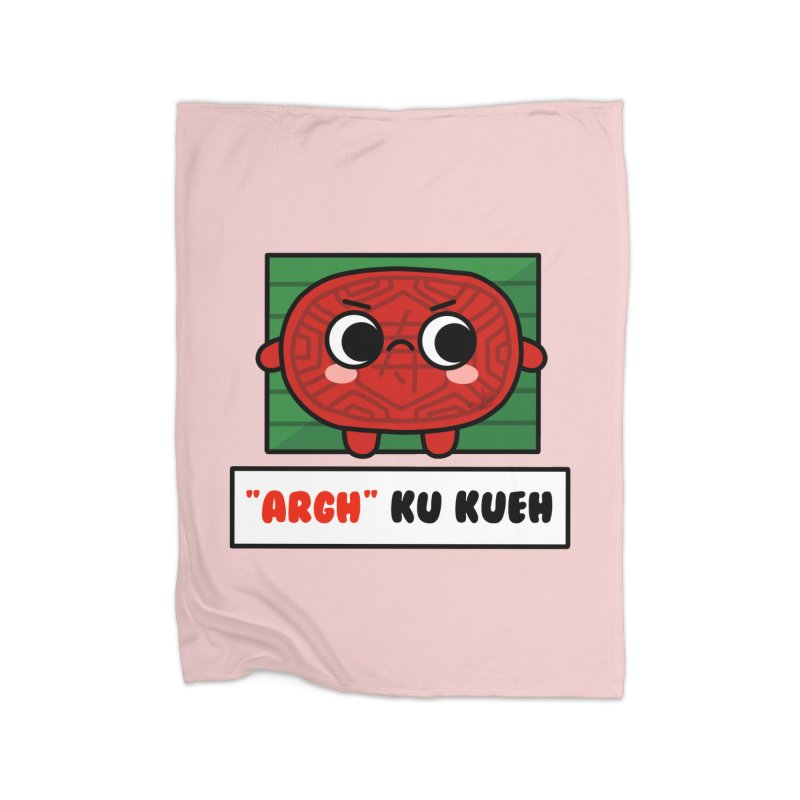 ARGH! Ku Kueh (By Singaporeans For Singaporeans) Home Blanket by Laugh And Belly's Merch
