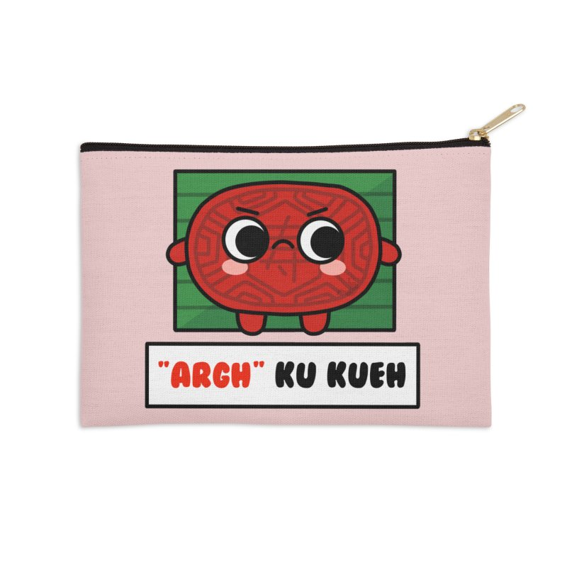 ARGH! Ku Kueh (By Singaporeans For Singaporeans) Accessories Zip Pouch by Laugh And Belly's Merch