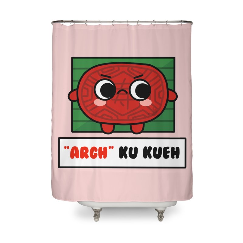 ARGH! Ku Kueh (By Singaporeans For Singaporeans) Home Shower Curtain by Laugh And Belly's Merch