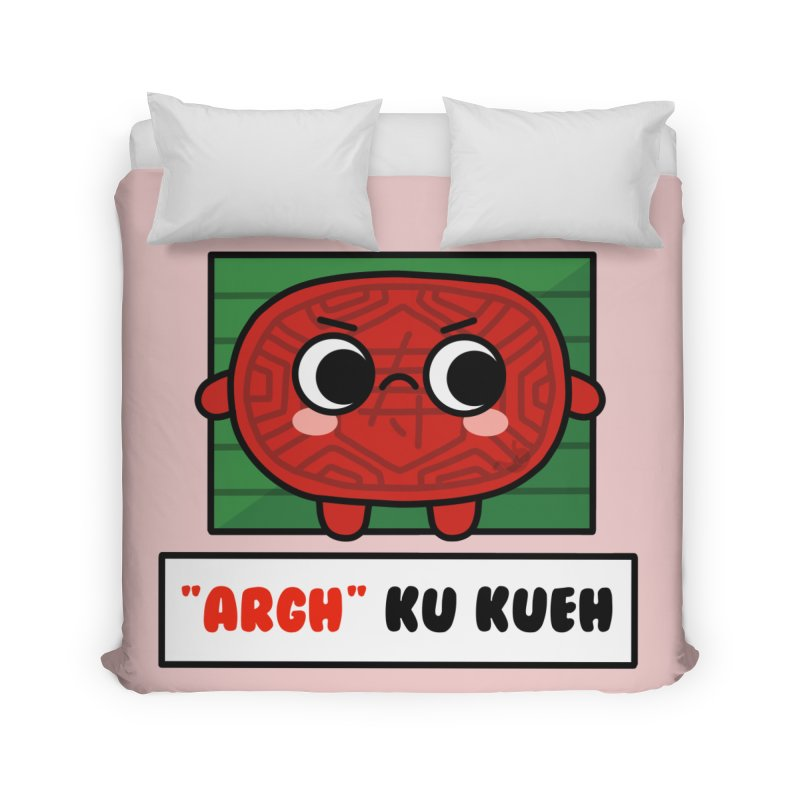 ARGH! Ku Kueh (By Singaporeans For Singaporeans) Home Duvet by Laugh And Belly's Merch