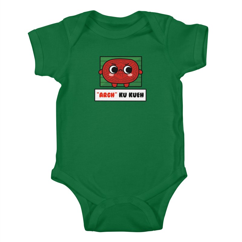 ARGH! Ku Kueh (By Singaporeans For Singaporeans) Kids Baby Bodysuit by Laugh And Belly's Merch