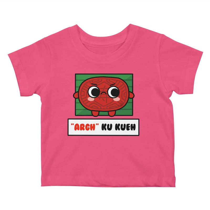 ARGH! Ku Kueh (By Singaporeans For Singaporeans) Kids Baby T-Shirt by Laugh And Belly's Merch