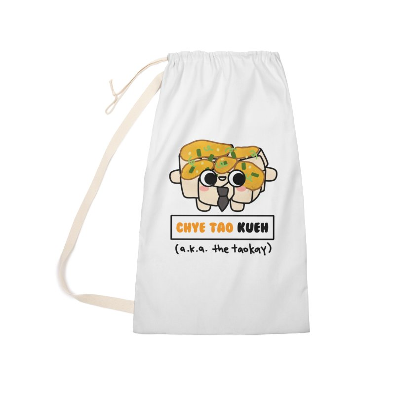 Chye Tao Kueh aka The Boss (By Singaporeans For Singaporeans) Accessories Bag by Laugh And Belly's Merch