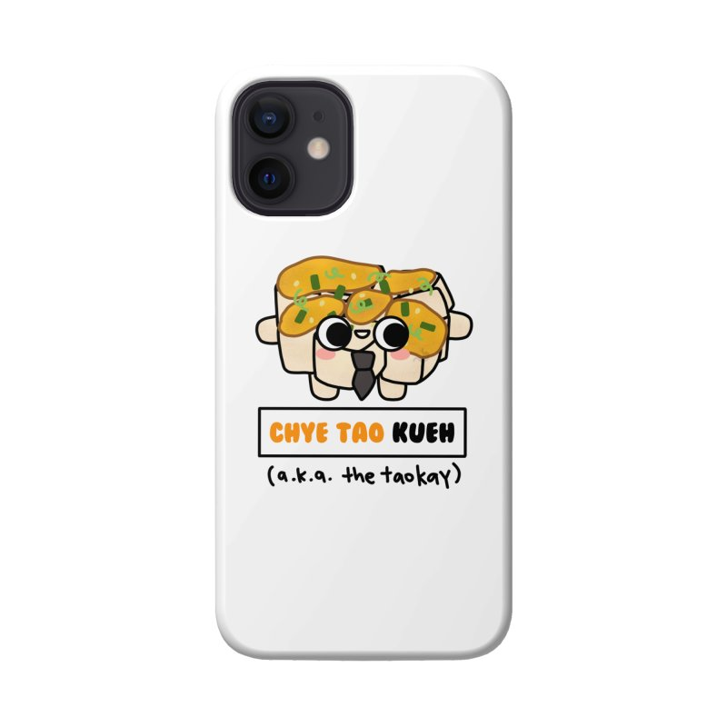 Chye Tao Kueh aka The Boss (By Singaporeans For Singaporeans) Accessories Phone Case by Laugh And Belly's Merch