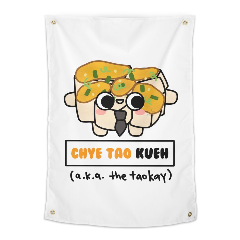 Chye Tao Kueh aka The Boss (By Singaporeans For Singaporeans) Home Tapestry by Laugh And Belly's Merch