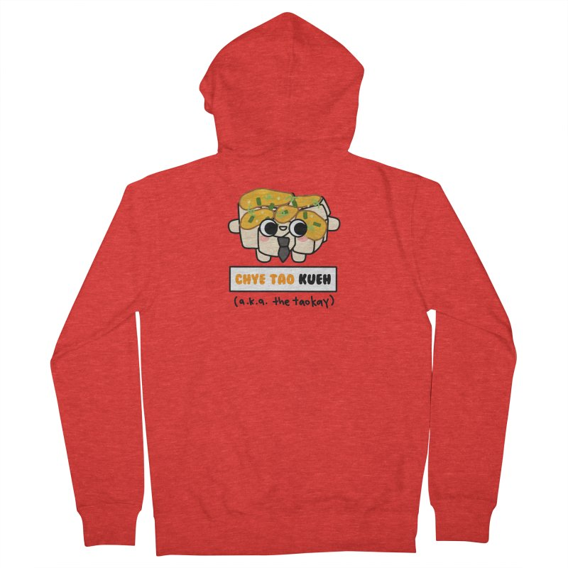 Chye Tao Kueh aka The Boss (By Singaporeans For Singaporeans) Men's Zip-Up Hoody by Laugh And Belly's Merch