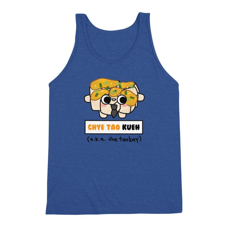 Chye Tao Kueh aka The Boss (By Singaporeans For Singaporeans) Men's Tank by Laugh And Belly's Merch