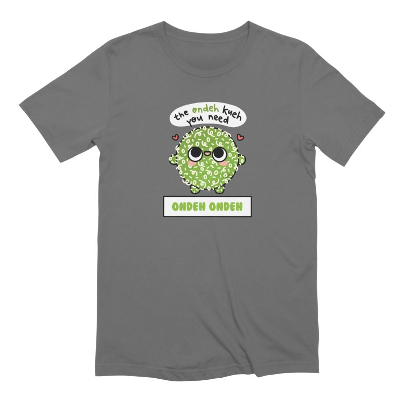 The Ondeh Kueh You Need (By Singaporeans For Singaporeans) Men's T-Shirt by Laugh And Belly's Merch