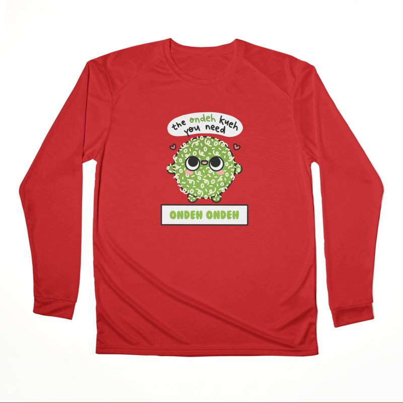 The Ondeh Kueh You Need (By Singaporeans For Singaporeans) Men's Longsleeve T-Shirt by Laugh And Belly's Merch
