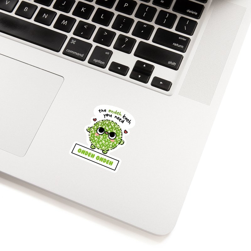 The Ondeh Kueh You Need (By Singaporeans For Singaporeans) Accessories Sticker by Laugh And Belly's Merch