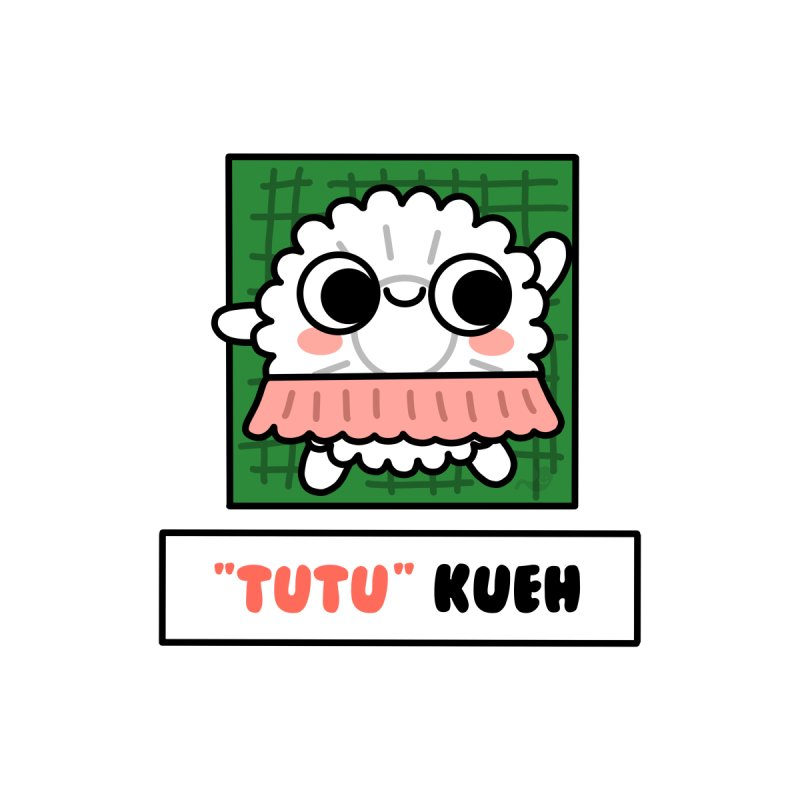 """Tutu"" Kueh (By Singaporeans For Singaporeans) Men's Sweatshirt by Laugh And Belly's Merch"