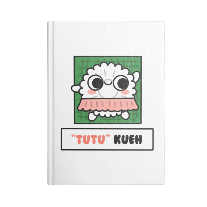 """""""Tutu"""" Kueh (By Singaporeans For Singaporeans) Accessories Notebook by Laugh And Belly's Merch"""