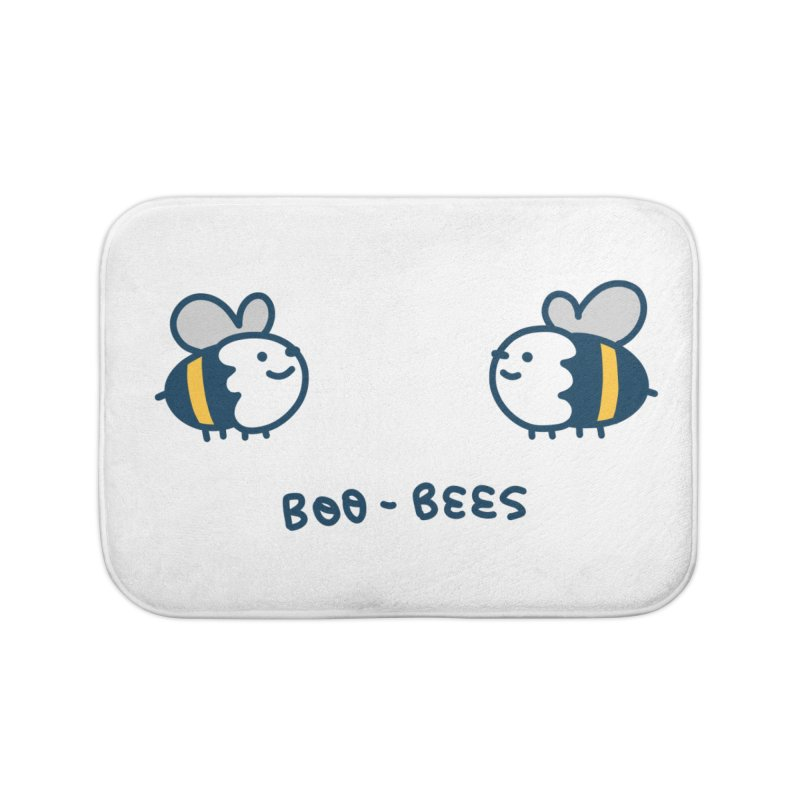 Boo-bees Home Bath Mat by Laugh And Belly's Merch