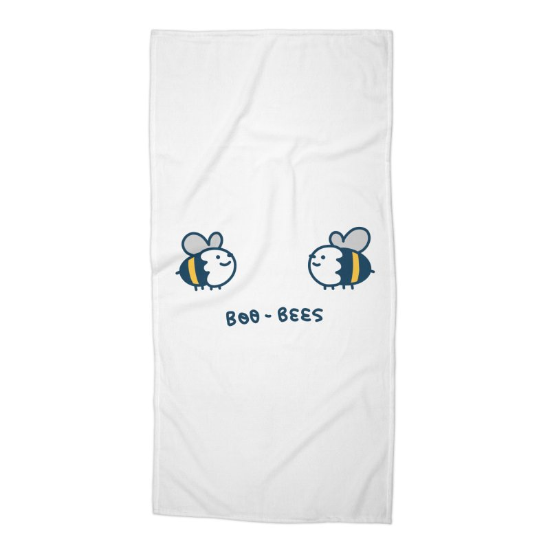 Boo-bees Accessories Beach Towel by Laugh And Belly's Merch