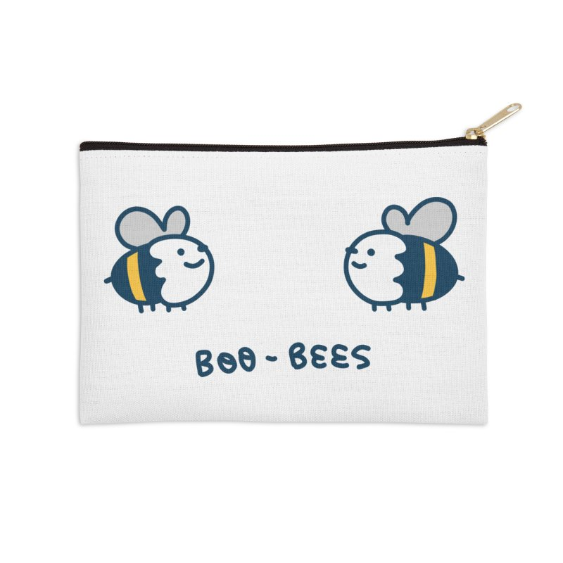 Boo-bees Accessories Zip Pouch by Laugh And Belly's Merch