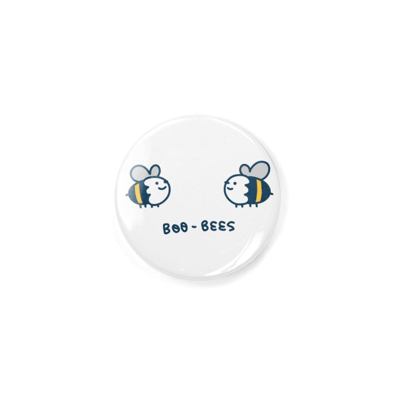 Boo-bees Accessories Button by Laugh And Belly's Merch