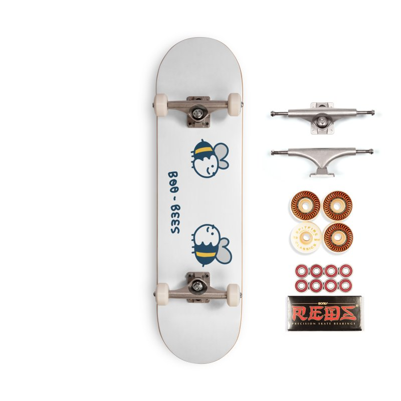Boo-bees Accessories Skateboard by Laugh And Belly's Merch