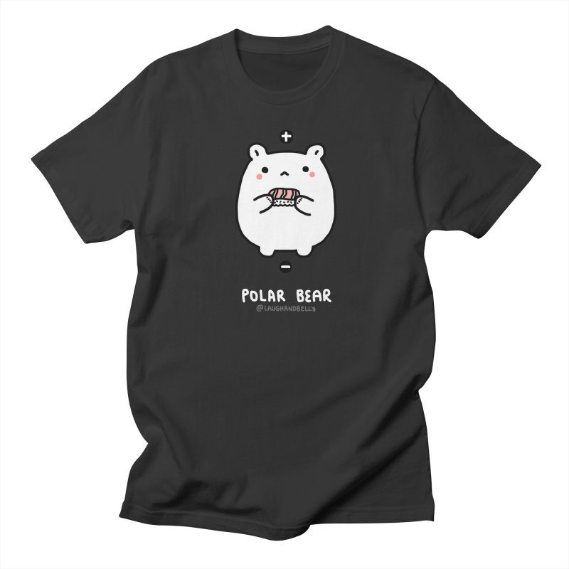 Polar Bear (Chemistry) in Men's Regular T-Shirt Smoke by Laugh And Belly's Merch