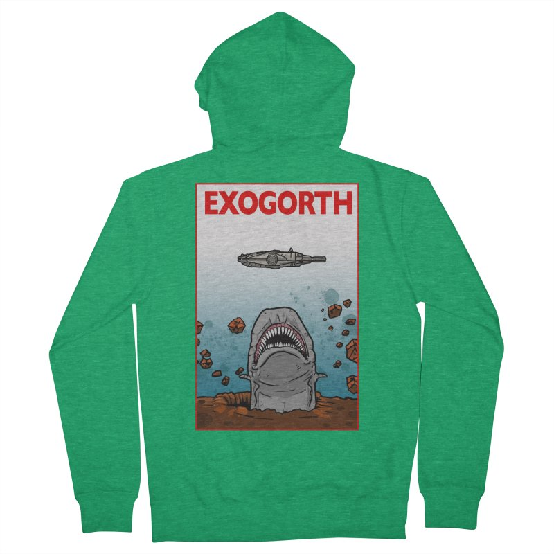 Exogorth Women's Zip-Up Hoody by The Launchpad Podcast