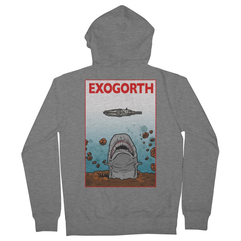 Exogorth Men's Zip-Up Hoody by The Launchpad Podcast