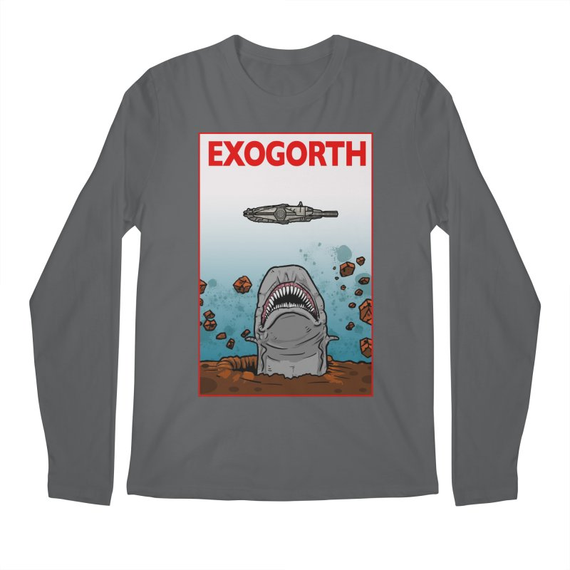 Exogorth Men's Longsleeve T-Shirt by The Launchpad Podcast