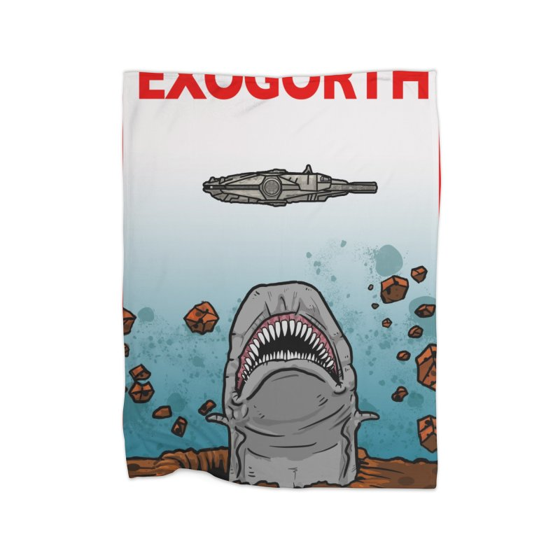 Exogorth Home Blanket by The Launchpad Podcast