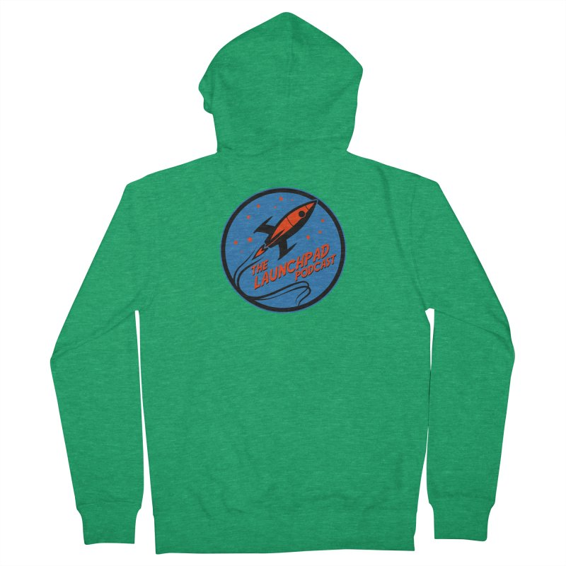 Launchpad Podcast Men's Zip-Up Hoody by The Launchpad Podcast