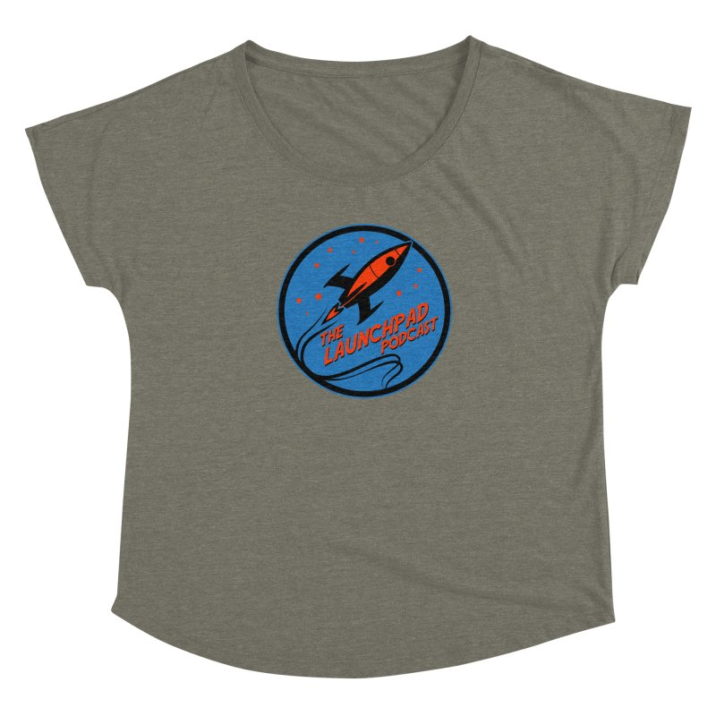 Launchpad Podcast Women's Scoop Neck by The Launchpad Podcast