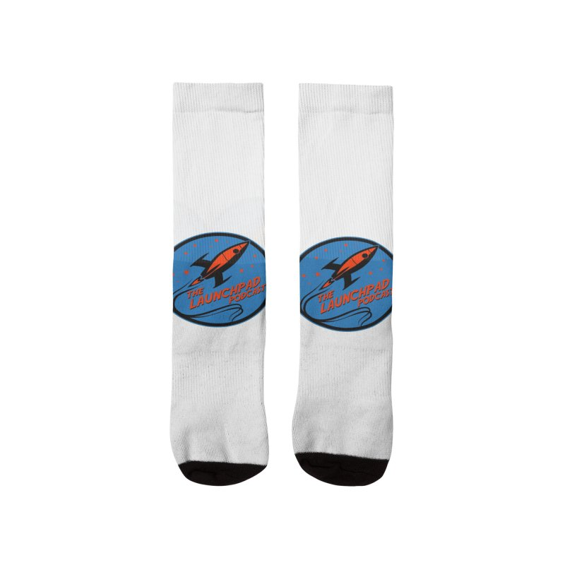 Launchpad Podcast Men's Socks by The Launchpad Podcast