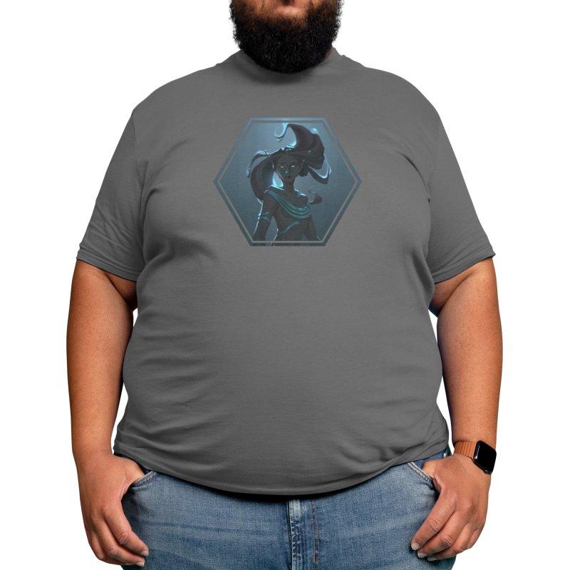 Black Mermaid Men's T-Shirt by Laura Faraci Graphics