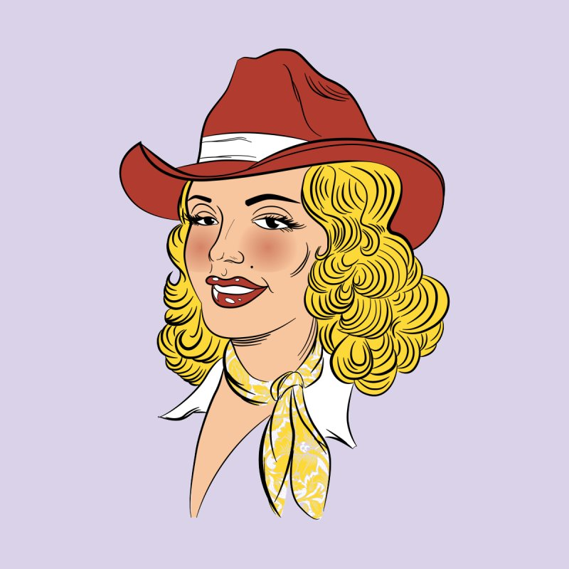 Cowgirl by laurafear's Artist Shop