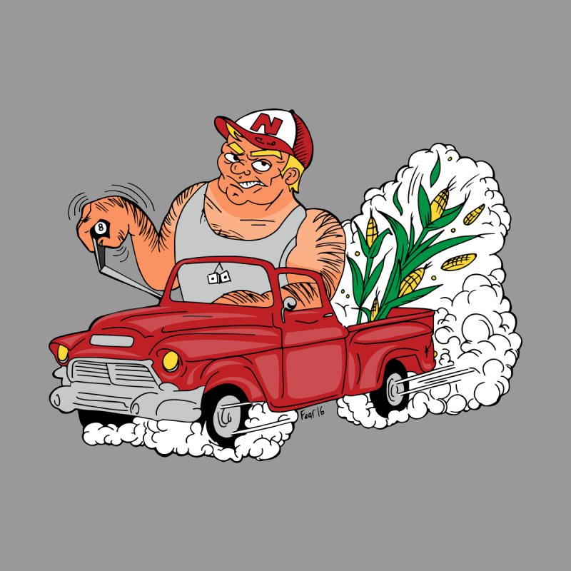 Corn Fueled Farmer None  by laurafear's Artist Shop