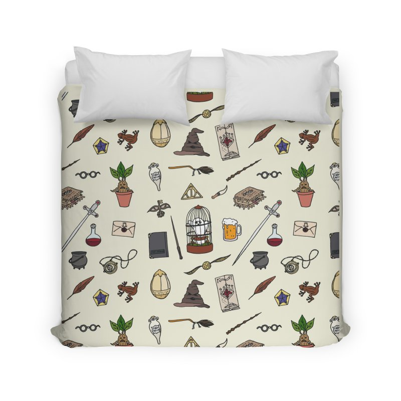 Harry Pattern in Duvet by LauraFrere's Artist Shop