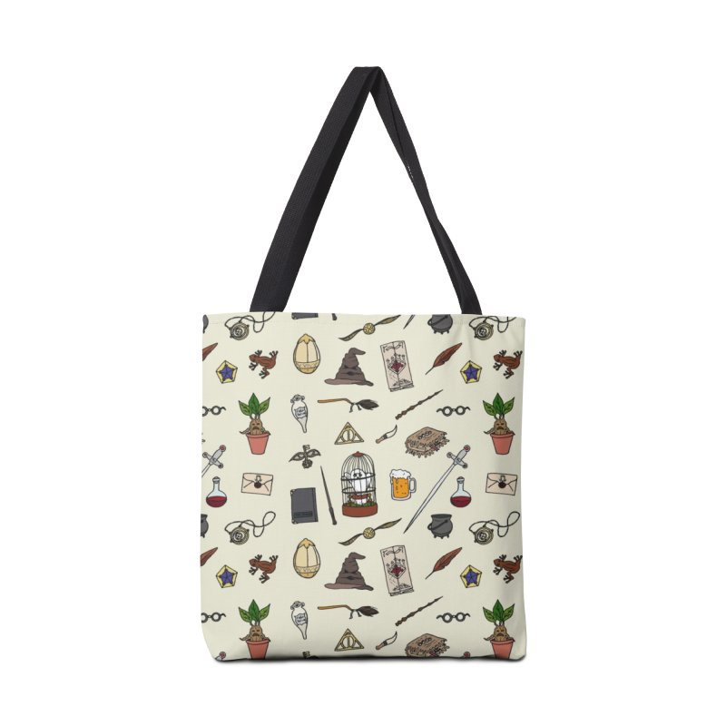 Harry Pattern in Tote Bag by LauraFrere's Artist Shop