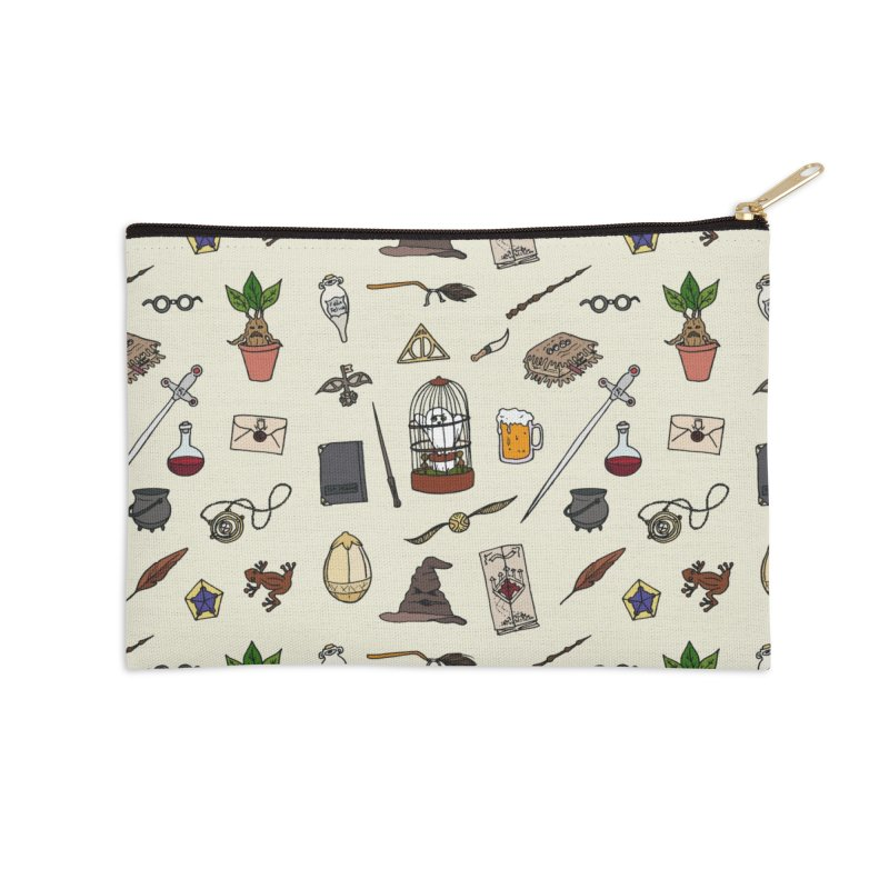 Harry Pattern in Zip Pouch by LauraFrere's Artist Shop