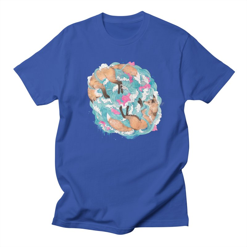 falling foxes Men's T-Shirt by lauragraves's Artist Shop