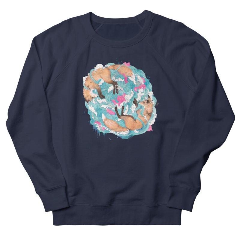 falling foxes Men's Sweatshirt by lauragraves's Artist Shop