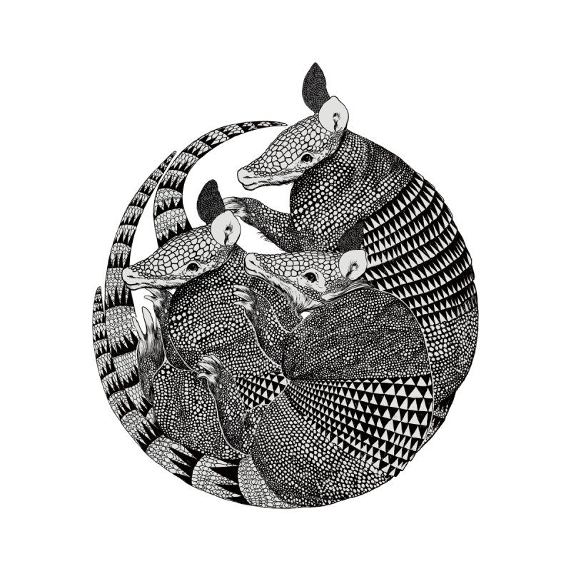 Armadillo None  by lauragraves's Artist Shop
