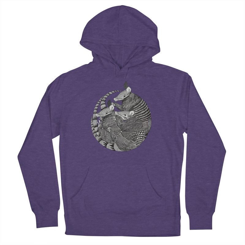 Armadillo Men's Pullover Hoody by lauragraves's Artist Shop