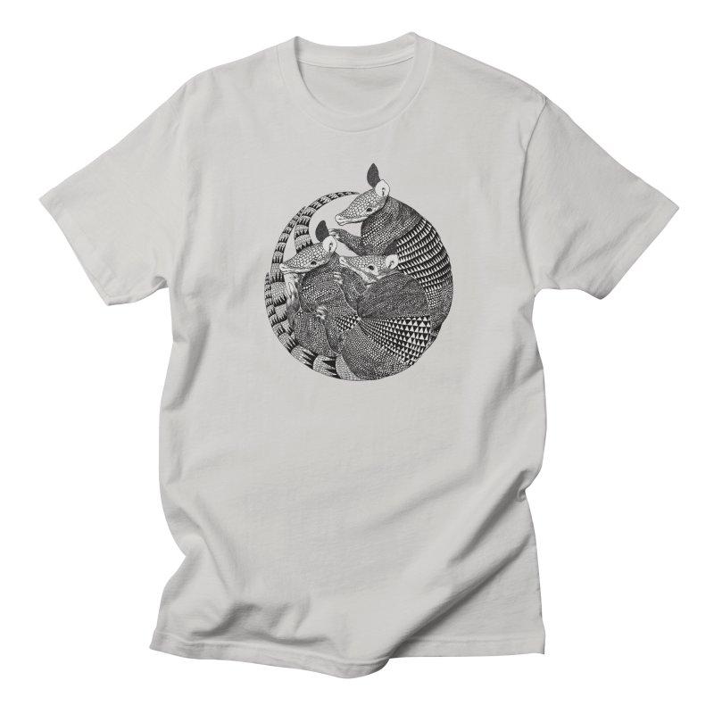 Armadillo Men's T-shirt by lauragraves's Artist Shop