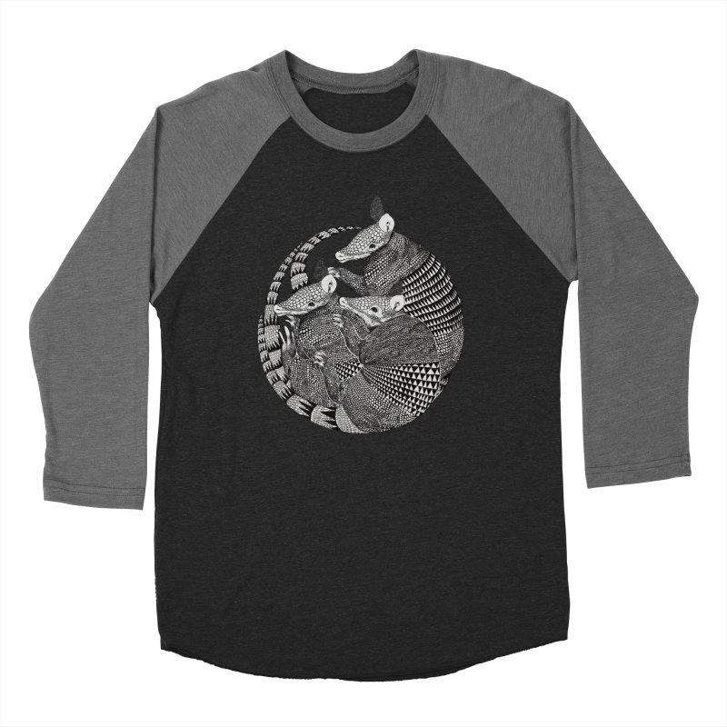 Armadillo Men's Baseball Triblend T-Shirt by lauragraves's Artist Shop