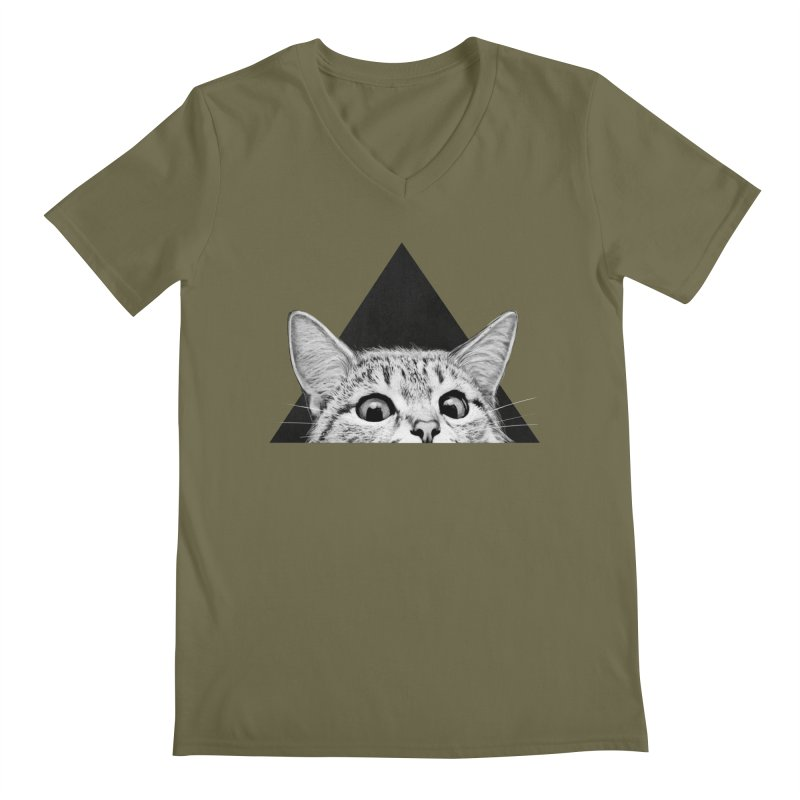 Are You Asleep Yet? Men's V-Neck by lauragraves's Artist Shop