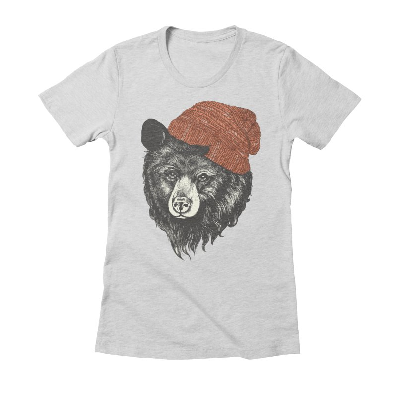 Women's Fitted T-Shirt by lauragraves's Artist Shop