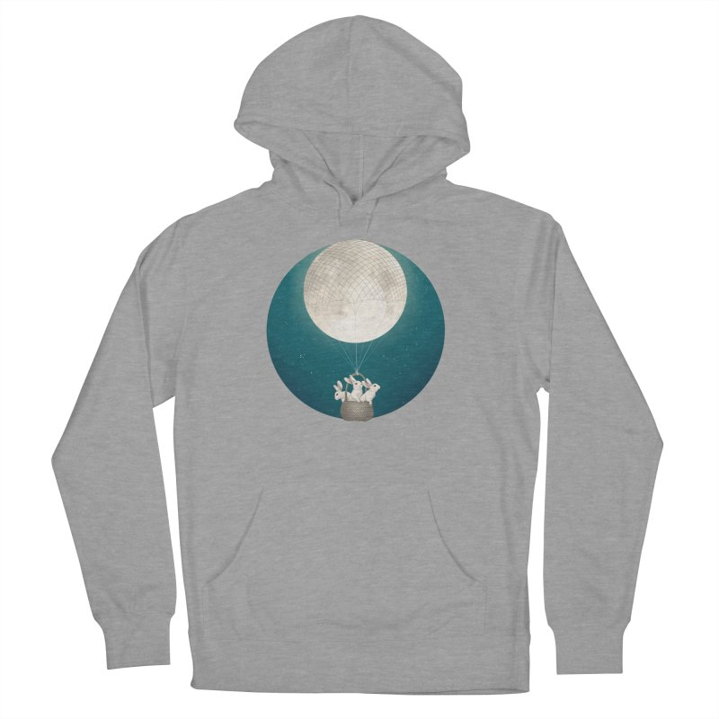 Moon Bunnies Women's Pullover Hoody by lauragraves's Artist Shop