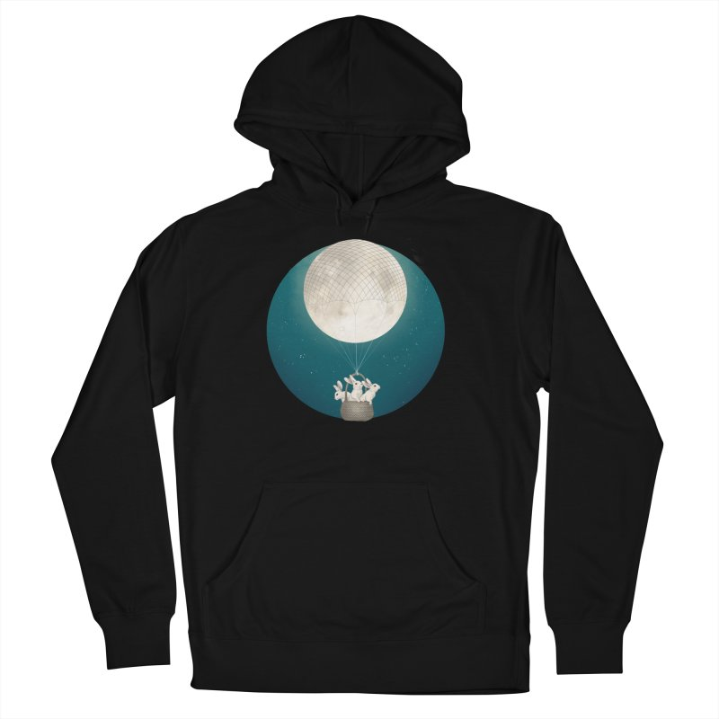 Moon Bunnies Women's Pullover Hoody by lauragraves's Artist Shop